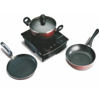 Butterfly Non-stick Cookware Kitchen Combo Pack 3