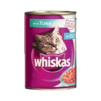 Whiskas Cat Food Can -Tuna 401 gms AG170