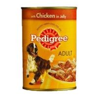 Pedigree Dog Foods Can Chicken 400 g AG102