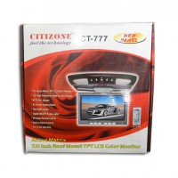 Citizone	TFT LCD Color Monitor CT-777 -Roof Mount- AU037