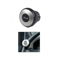 I-POP Mini Silver Car Steering Wheel Power Holder Knob Spinner	 AU072