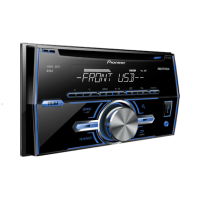 Pioneer double din CD player FH-X369UB AU036