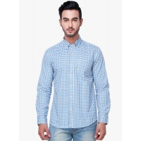 Yepme Men's Blue Formal Shirt GN023
