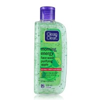 Clean & Clear Morning Energy  Face Wash Purifying Apple, 100ml pack of 2 GN061
