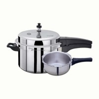 Pressure Cooker 3 Ltr with Pressure Pan Combo Mr Plus