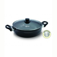 Kadai 26 Cm With Glass Lid 3 mm Mr Plus