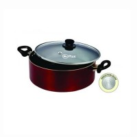 Mr Plus Induction Base Biriyani Pot 3.5 Ltr With Glass Lid