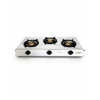 Greenchef Slim 3-Burner Stainless Steel LPG Stove HM016