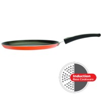 Greenchef Nonstick Cookware 3mm Induction Base Flat Tawa 310mm HM044