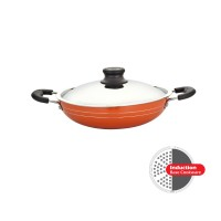 Greenchef Nonstick Cookware 3mm Induction Base Kadai 230mm HM045