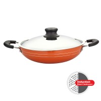 Greenchef Nonstick Cookware 3mm Induction Kadai 260mm HM046