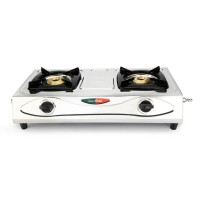 Greenchef Economy 2 Burner Stainless Steel Stove HM052