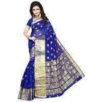 Vismay Banarasi silk butty with golden border FS655
