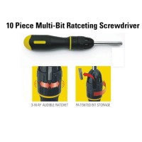 Stanley 10 Piece Multi Bit Ratceting Screwdriver