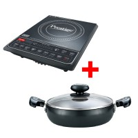Prestige Induction Cook Top PIC 16.0 Plus with 240 mm Saute Pan Combo